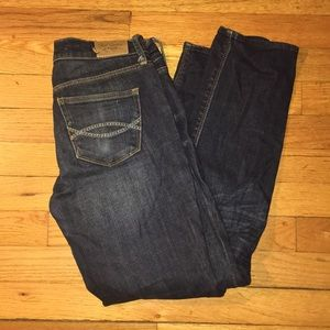 Abercrombie and Fitch Crop Stretch Jean